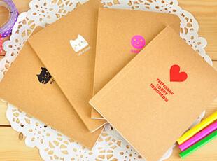 生活糖果 48包邮 简约迷人 64k牛皮纸笔记本子 软面抄 小款,文具,