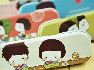 面包城堡★日本韩国文具创意 可爱铁笔盒 文具盒 怀旧时光系列,文具,