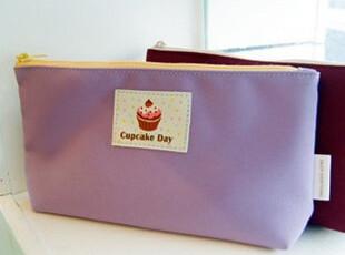 日韩创意文具 热销款 彩色帆布笔袋 文具袋 票据收纳袋 杂物袋,文具,