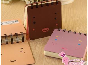贝贝兔♥108K表情线圈本/便携记事本/笔记本 创意本子/韩国文具,文具,