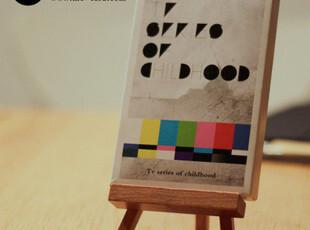 盒装明信片-《童年里的老电视》 30张入,文具,