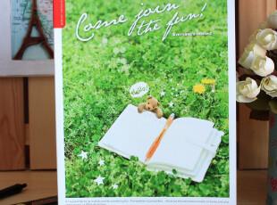 韩国morning glory●2012年夏日新款 B5软面抄|笔记本-草坪,文具,