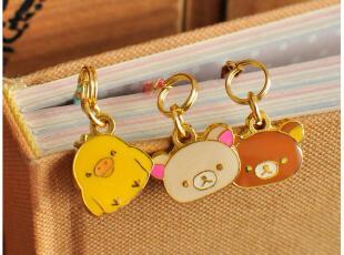 默默爱♥日韩国文具 可爱小熊麂皮吊坠书签 3款选,文具,
