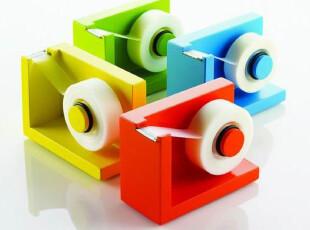 Stiklt Tape Dispenser出口日本*韩国彩色胶带座/实木胶带架/胶带,文具,
