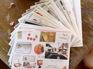 韩国● 迷失东京 Road and Tokyo  装饰贴纸 14张入,文具,