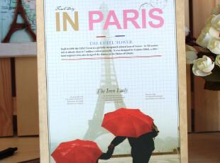 韩国morning glory●2012年夏日新款 B5软面抄|笔记本-雨中巴黎,文具,