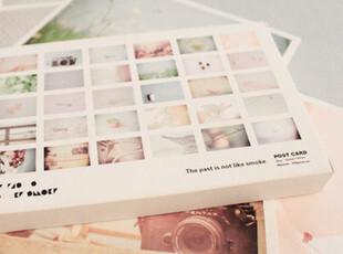 盒装明信片-《往事不如烟 》 30张入,文具,
