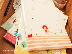 [特]杂啊 可爱小孩韩国文具 THE children单行线作业笔记本子 32k,文具,