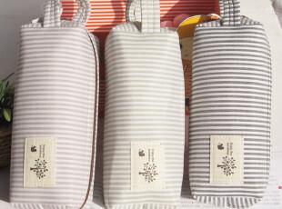 BD020日韩国文具 英伦条纹 大容量帆布笔袋 文具袋,文具,