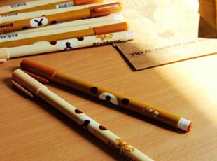 满45包邮】韩国文具 卡通可爱轻松熊圆珠笔 0.38 懒懒熊原子笔,文具,