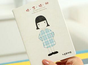 日韩国文具 韩版 可爱卡通 格子精神 小款 笔记本 /记事本,文具,