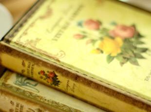 39包邮】韩国文具 复古 记事本 笔记本日记本 计划本美丽植物本子,文具,