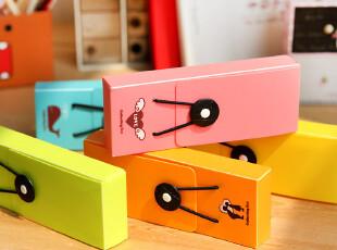 三年二班●创意文具 韩版 时尚 炫彩 可爱 卡通 搭扣 笔盒 收纳盒,文具,