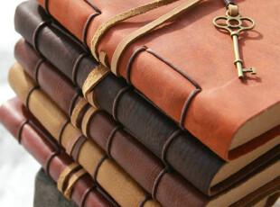 【热销】复古经典手工牛皮日记本|笔记本|真皮A5皮绳系列【MOZE】,文具,