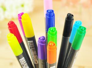 【特】三年二班●韩国慕娜美monami402 双头画笔 彩色笔 12款选,文具,