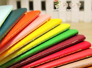 满45包邮】韩国文具 B5字母糖果色英语练习本 笔记本 车线本 12色,文具,