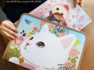 二年四班|韩国文具 卡通猫咪/可爱蕾丝文件包/收纳包/手提包 爆款,文具,
