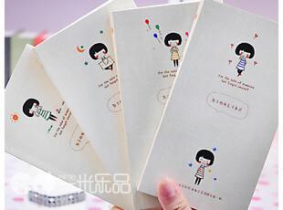 一米乐品™日韩国创意文具48k仿布面彩页日记本记事本口袋涂鸦本子,文具,