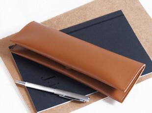 多加duga 韩国创意 皮质简约 大容量|笔袋|日本可爱文具盒包|,文具,