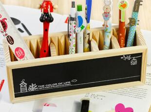 流年●韩国 可爱文具 韩国可爱笔筒 创意 木质笔筒 笔筒,文具,