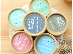 默默爱♥日韩国 可爱文具 创意 迷你金属书签 盒装 20枚入,文具,