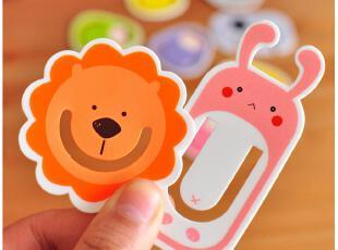 默默爱♥创意文具 韩版书签 读书伴侣 时代良品卡通可爱书签夹,文具,