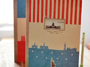 zaa杂啊 旅途遇见的美好 可爱创意韩国文具 笔记本 摘记本子 16k,文具,