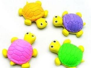 韩国创意文具批发 可爱卡通乌龟橡皮擦 儿童礼物 学生礼品 奖品,文具,