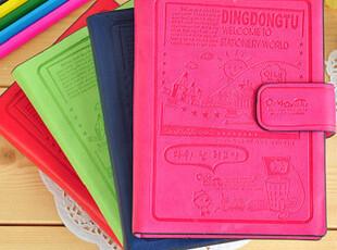 特价促销 韩国可爱创意笔记本/皮扣 日记本 本子 记事本彩页 韩国,文具,