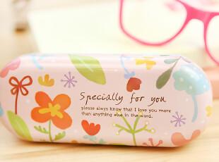 三年二班●可爱生活 可爱 清新 夏日风情水之彩眼镜盒 笔盒,文具,