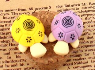 黑森林★韩国文具 MINI 小龟造型 小巧 可拆卸 迷你橡皮擦 D43,文具,