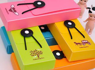 生活糖果 48包邮 创意文具 可爱简洁时尚 彩色 松紧带笔盒,文具,