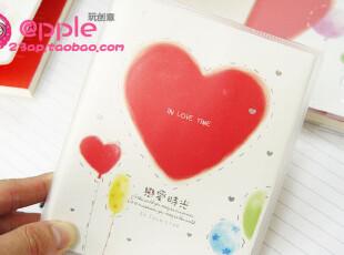 apple玩创意★韩国文具 恋爱时光/恋爱日记本/情侣笔记本/记事本,文具,