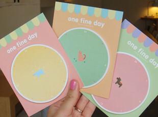 韩国创意文具可爱工作计划留言贴|N次贴|便签贴|便笺本|便利贴,文具,
