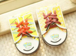 日韩国文具 新款 可爱 创意 小酷鞋 N次贴 便利贴 6色 W08,文具,