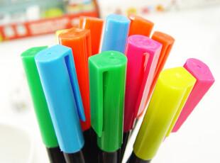 AP玩创意★韩国文具 慕娜美Monami彩色/荧光笔/标记笔/记号笔/6色,文具,