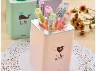 默默爱♥时代良品 小清新 可爱多用储笔筒 日韩国款时尚文具,文具,