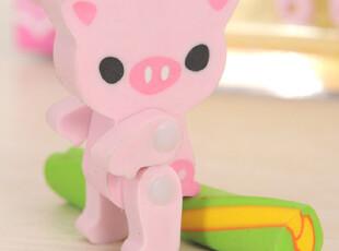 FUN&JOY动物玩具橡皮 新款日韩风文具 热卖创意卡通70258,文具,