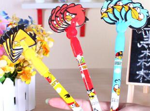 黑森林★韩国文具 愤怒的小鸟 小扇子造型 圆珠笔 原子笔 A41,文具,