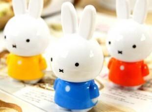 二年四班|韩国文具 Miffy可爱米菲造型迷你伸缩圆珠笔/创意伸缩笔,文具,