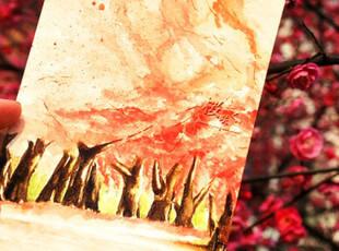 春,樱花祭。桜咲く。 明信片 4张入,文具,