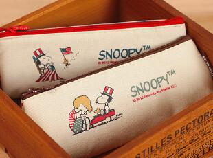伊凡●晨光文具 史努比 旧时光系列 笔袋 笔盒 学生铅笔袋 2款,文具,