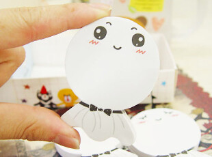 AP玩创意★韩国文具 可爱卡通/晴天娃娃随意贴/N次贴/便利贴,文具,