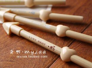 zaa杂啊 一箭穿心 可爱创意中性笔 韩国文具0.38黑色笔芯水笔 特,文具,