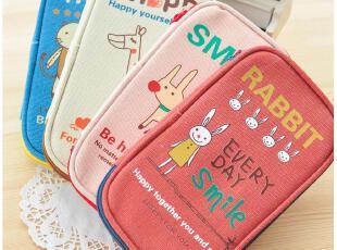 默默爱♥动物轻松派可爱笔袋 大容量多功能创意笔袋 日韩文具,文具,
