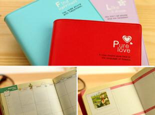 满39包邮 韩国文具 日记本 日程本 随身随记 超迷你 甜美日记,文具,