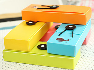 创意文具 可爱简洁时尚 彩色 松紧带笔盒/笔袋 低价促销 零利润,文具,