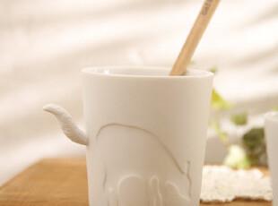 森林系童话动物杯 陶瓷杯 水杯 马克杯 杂货 可当烛台 日式杯子,杯子,
