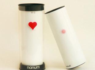【韩国进口】nanum heartea Lovepot 爱心触摸感温杯,杯子,