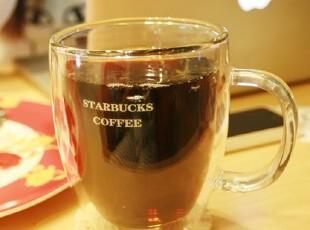 【2件包邮】星巴克双层玻璃杯|大肚杯|耐隔热杯|茶杯|超薄情侣杯,杯子,
